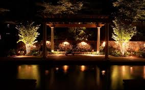 october is national outdoor lighting month
