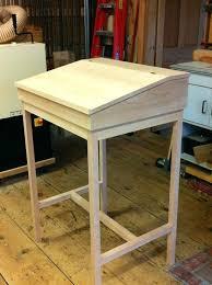 shaker writing desk shaker desk assembled and waiting for finish shaker cottage writing desk