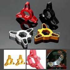<b>1Pair Motorcycle CNC</b> Front Hexagon Anodized Fork Preload ...