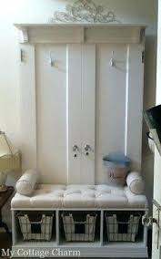 Bench With Storage And Coat Rack Coat Rack With Storage Behind The Door Coat Rack Mini Hall Tree Coat 35
