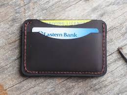 men s minimal leather wallet