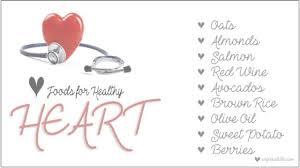 Healthy Diet Chart For Heart Patients 9 Good Foods For Healthy Heart A Diet Chart For Heart