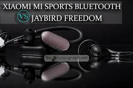 Xiaomi Mi Sports Bluetooth Vs Jaybird Freedom Comparison