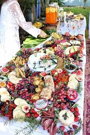 a foo feast wedding grazing tables