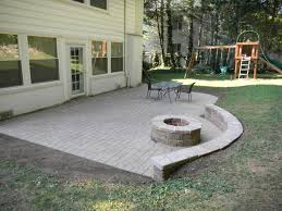backyard raised patio ideas. Patio Wall Construction Elevated Concrete Natural Stone Ideas Image Of Bench Design Longlasting Designs Unique Hardscape Backyard Raised A