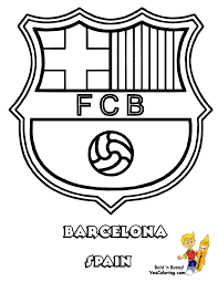 Emblems Of French Football League Ligue 1 Coloring Pages L