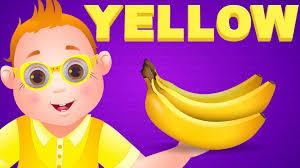 Color Songs - The YELLOW Song | Learn Colours | Preschool Colors Nursery  Rhymes | ChuChu TV - YouTube