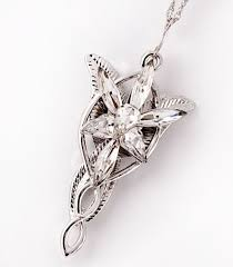 the rings arwen evenstar necklace