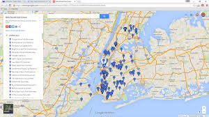 Genovese Crime Family Chart 2015 New York Mafia Social Clubs And Hangouts Map About The Mafia