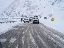 Image result for جاده در سرما
