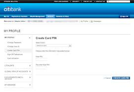 Pin And Pay To Make All Card Transactions Secure Citibank