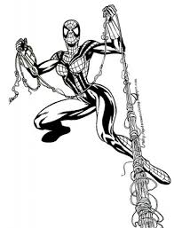 Small Picture Coloring Pages Of Spider Woman anfukco