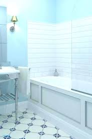 shower fiberglass tub surround installation inserts inspiring simple bathroom with one piece enclosure and 1 stall