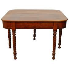 drop leaf dining room table elegant midcentury kittinger mahogany drop leaf table for at 1stdibs
