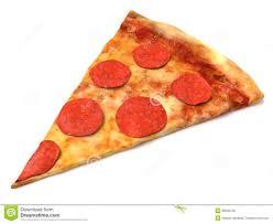 pepperoni pizza slice. Exellent Slice Pepperoni Pizza Slice To L