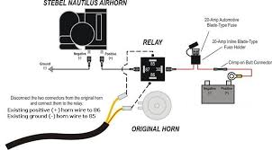 car horn wiring diagrams car wiring diagrams online