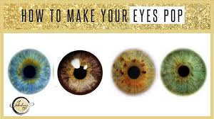 how to create beautiful eyes using color