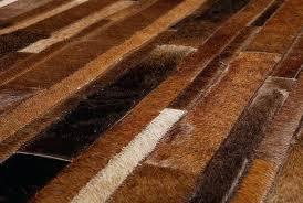 cowhide patchwork genuine leather rug animal skin rugs australia
