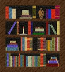 Bookshelf Quilt Pattern Interesting Bookshelf Quilt Kit
