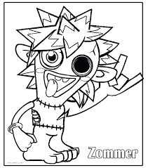 Free Monster Coloring Pages Printable Blaze Coloring Pages Coloring