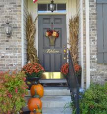 ... Large-size of Intriguing Decorating Idea Bright Coloredpumpkins  Finished Door Flower Door Decoration Decorating Porches ...