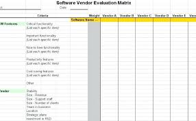 Vendor List Template Inspiration Vendor Rating System Template Ensite