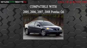 How To Replace Pontiac G6 Key Fob Battery 2005 2006 2007 2008 ...