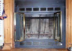 Home Improvement Paint Wood Paneling Brick Fireplace Shelves Plank Fireplace Refractory Panels