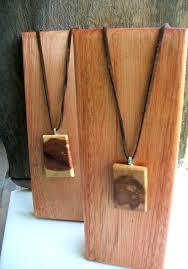 Wooden Necklace Display Stands 100 Small Wooden Jewelry Display Stands for Necklaces Pendants 9