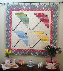 Spring Showers 4 Umbrella Quilt Pattern - pdf download only. $7.00 ... & Spring Showers 4 Umbrella Quilt Pattern - pdf download only. $7.00, via  Etsy. Adamdwight.com