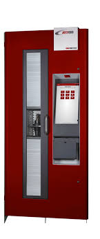Autocrib Vending Machine Inspiration RoboCrib TX48 First Vending Machine To Dispense Boxes