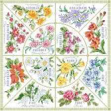 Month Flowers Chart Kooler Design Studio