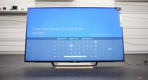 sony tv android. an error occurred. sony tv android d