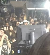Selena Gomez Is Spotted At Justin Biebers Concert At Las