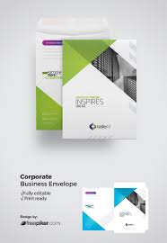 Clean Simple Freepiker Creative Corporate Clean Simple Business C4 Envelope