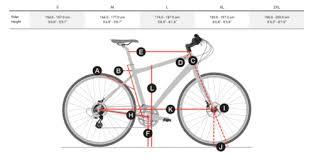 Trek Hybrid Bike Size Chart Trek Fx 3 2019