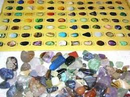 Crystal Identification Chart Pictures Amazon Com Rock Mineral Educational Find Sort Identify