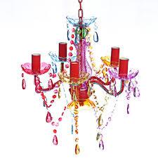 Huberxxl Acryl Kronleuchter Multi Farben