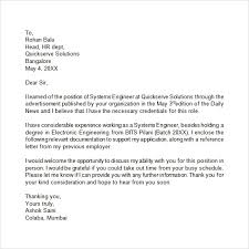 Examples Of An Unsolicited Cover Letter Canadianlevitra Com