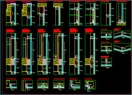 curtain wall details dwg