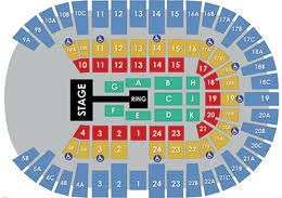Viejas Casino Seating Chart Wwe Monday Night Raw Pechanga Arena San Diego