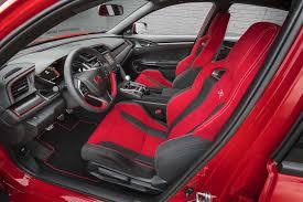 2017 honda civic type r front interior seats 1