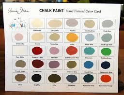 Annie Sloan Chalk Paint Colors Projects
