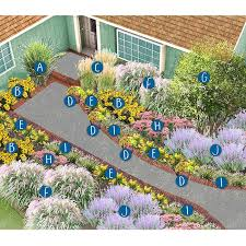 front yard flower garden plans. north-central plan front yard flower garden plans