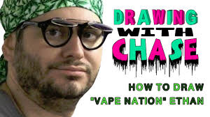 how to draw vape nation ethan klein