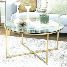 marble top gold coffee table uk round glass metal modern accent tempered frame