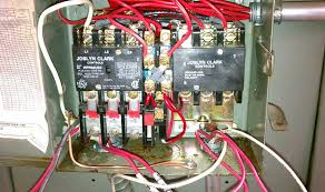 use a 3 pole reversing contactor for 1 phase 220? reversing starter wiring diagram Reversing Contactor Wiring Diagram #32