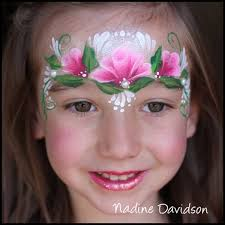 rose princess face paint girls face painting princess face paint nadine s dreams face