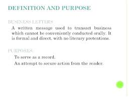 Definition Of A Cover Letter Purpose Of Resume Cover Letter Purpose Cover Letter Fresh Business