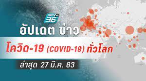 อัปเดตข่าว สถานการณ์ โควิด-19 ทั่วโลก ล่าสุด 27 มี.ค.63 : PPTVHD36